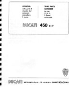 Bevel heaven products ducati manuals and literature  ducati 450 r t parts catalog 64 pages, loosely bound reproduction of the factory manual