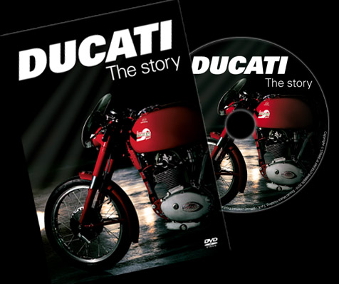 """Ducati - The Story"" DVD available at Bevel Heaven"