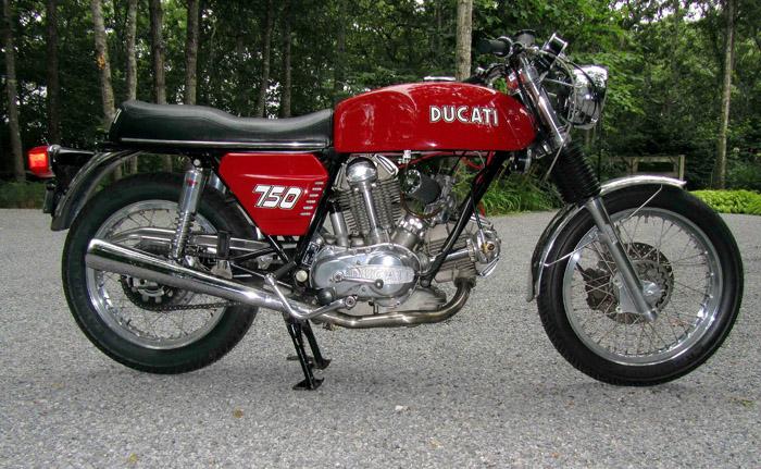 bevel heaven - ducati bevel drive 750gt for sale