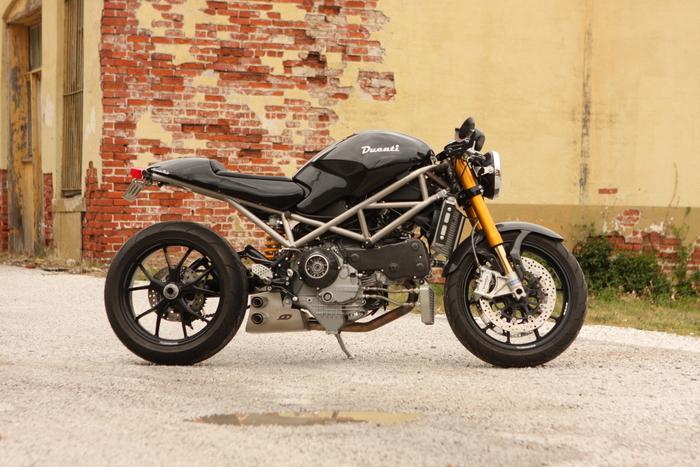 Bevel Heaven Ducati Monster S4rs Custom