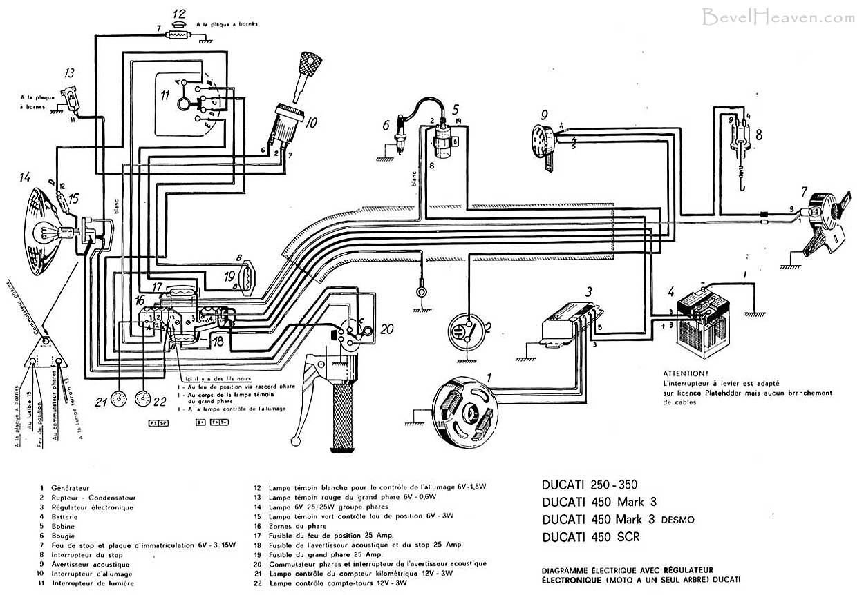 1970 ducati scrambler headlight wiring diagram