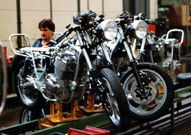 Ron visits the Laverda Factory....