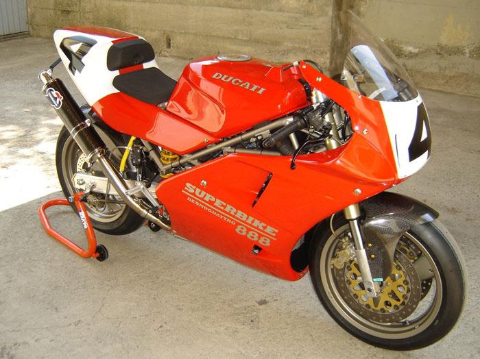 Massimo S 1994 Ducati 888 Strada