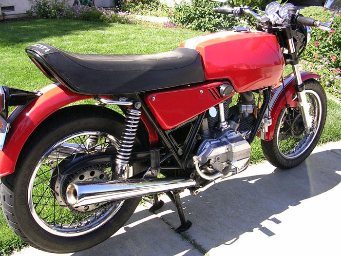 1975 ducati 860 bevel drive