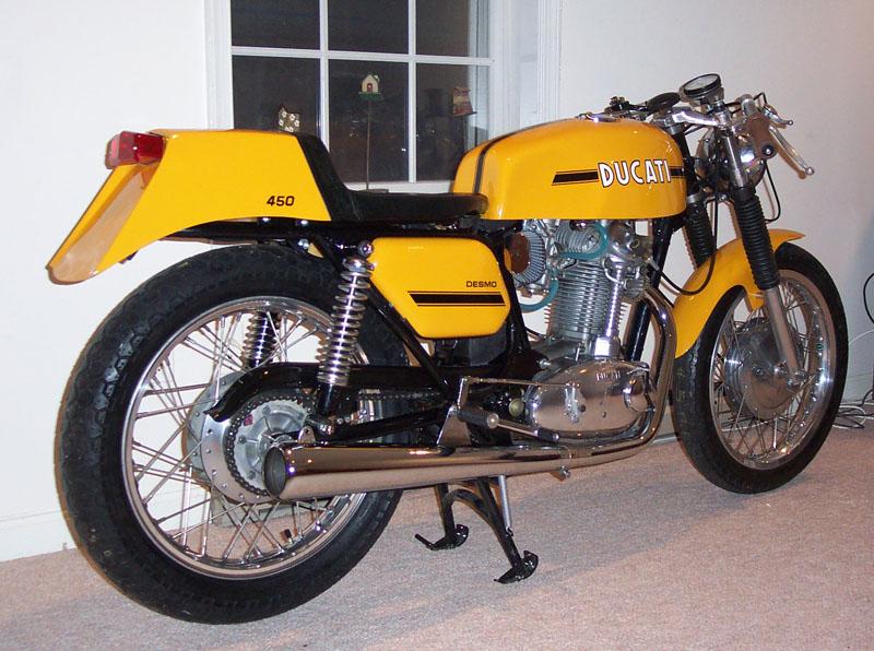 Ducati Yellow For Sale